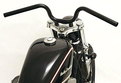 Harley Davidson Stuur Short Rise • Met Scassi - beschrijving: zwart
