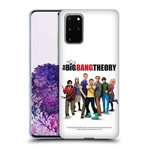 Head Case Designs Offizielle The Big Bang Theory Staffel 10 Schluessel Kunst Soft Gel Handyhülle Hülle Huelle kompatibel mit Samsung Galaxy S20+ / S20+ 5G