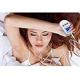 ghjkl Dispositivo de Terapia de Insomnio, Estimulador de electrooterapia craneal Dispositivo de sueño Tratamiento Insomnio Ansiedad Insomnio Terapia