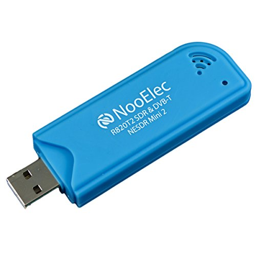 Nooelec NESDR Mini 2 USB RTL-SDR- und ADS-B-Empfängerset, RTL2832U- und R820T2-Tuner, MCX-Eingang. Kostengünstige Software Defined Radio Kompatibel mit vielen SDR-Softwarepaketen, ESD-sicher