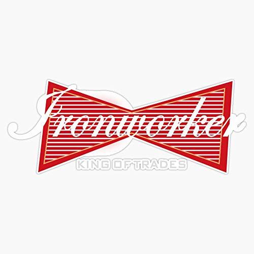 Ironworker King Of Trades Funny Gift Sticker Vinyl Decal Wall Laptop Window Car Bumper Sticker 5