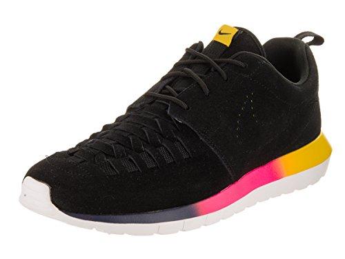 Nike Roshe Run NM Woven - Black / Tour Yellow / White - 44