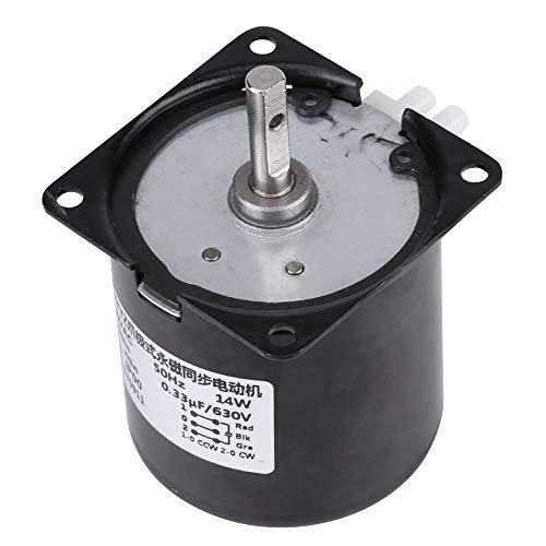 profesional ranking Caja de cambios de CA 220V 60KTYZ Motor eléctrico síncrono de repuesto Motor de engranajes (60 RPM) elección
