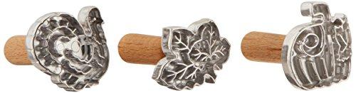 Chicago Emporte-pièces en croûte à tarte métallique