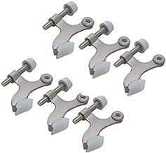 Better Home 6-Pack Hinge Pin Satin Nickel Door Stopper, Easy to Install