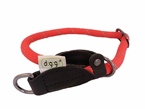 Dogo 12676-55 Collier Ras de Cou Rouge