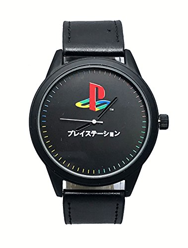 Orologio da polso con cinturino nero Sony PlayStation Logo con licenza ufficiale