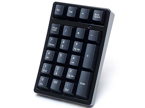 FILCO Majestouch TenKeyPad 2 Professional使用 テンキー工房 越前漆塗りモデル 漆・漆黒 七分艶 Cherry MX 茶軸 USBポータブルメカニカルテンキーパッド ブラック FTKP22M/B2-BK