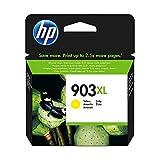 HP 903XL T6M15AE Cartuccia Originale per Stampanti a Getto di Inchiostro, Compatibile con Stampanti HP OfficeJet 6950, OfficeJet Pro 6960 e 6970, Giallo