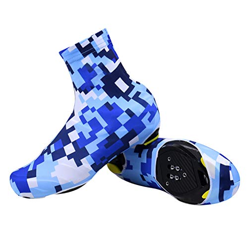 Pokrowce na buty rowerowe, zimowe wiosenne buty pokrowiec cieplejszy wodoodporny termiczny rower wiatroszczelne pokrowce na buty rowerowe dla mężczyzn kobiet, - a - Medium