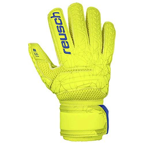 Reusch Fit Control S1 - Guantes de Portero para niños, Talla 7, Color Amarillo