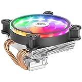 MARSGAMING MCPU220, Disipador CPU Negro, TDP 140W, Dual ARGB, Silencioso PWM