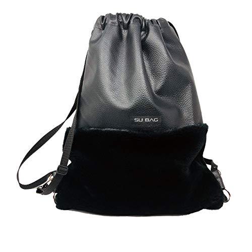SU BAG - One Fell Rucksack Bagpack Daypack Beutel black/black