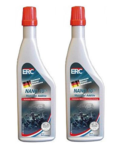 2 X ERC NANO 10-9 MOTOROEL ADDITIV;200ML;MOTOR;ÖLZUSATZ;Motorbeschichtung;ADDITIV