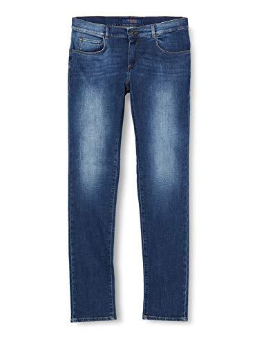 Trussardi Jeans 370 Close Denim Cross Caroline Jeans Straight, Blu (Ink U285), 46 (Taglia Produttore:30) Uomo