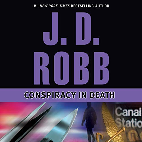 Conspiracy in Death audiobook cover art
