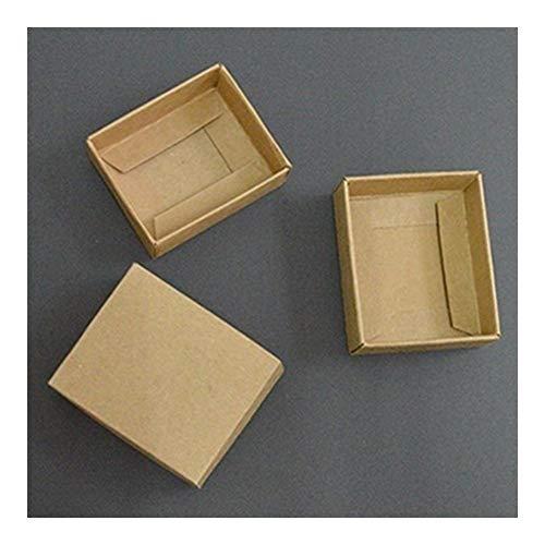 Homeilteds 10pcs Caja de Regalo Grande con Tapa Cajas de Papel for...