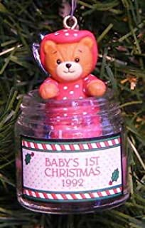 Enesco Tasty Tidings Treasury of Christmas Ornament, Baby's First Dated 1998