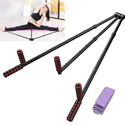 FIGROL Leg Stretcher Leg Split Stretching Machine Stretching Equipment Flexibility for Ballet, Yoga,Dance, MMA, Taekwondo & Gymnastics(Black)