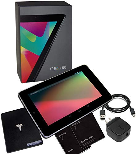 Asus Nexus 7 Google 32GB Factory Unlocked GSM 3G + Wi-Fi Android Tablet PC, Black (2012 Version)