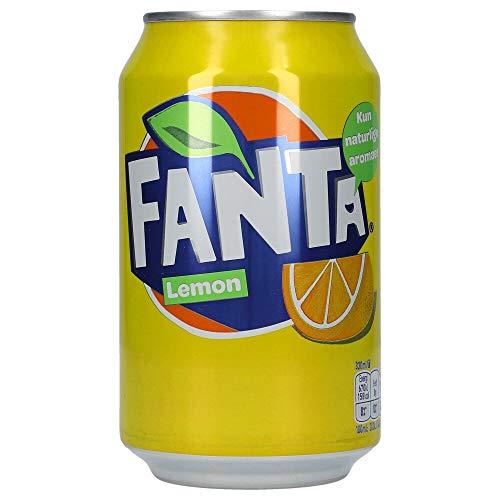 72 Dosen Fanta Lemon (72 x 0,33L Dosen) EINWEG