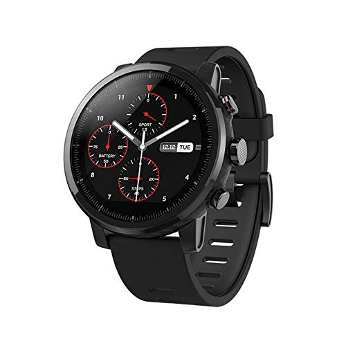 Xiaomi 7502281549825 Amazfit Stratos, Color Negro, Pack of/Paquete de 1