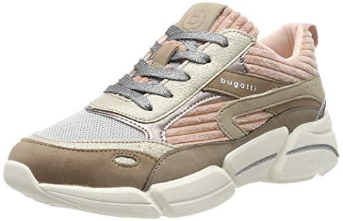 bugatti Damen 432668015959 Sneaker, Beige (Beige/Rose 5234), 39 EU