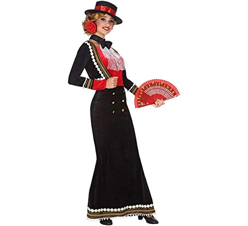 Atosa 53865 Disfraz Cordobesa XL Mujer Negro, Color