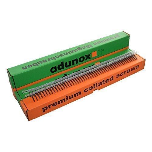 adunox Gurtmagazinschrauben / Magazinschrauben 3,9 x 25 mm mit Feingewinde 1VE (1000St)