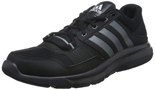 adidas Gym Warrior .2, Zapatillas de Deporte Hombre, Negro (Negbas/Hiemet/Neguti), 40 2/3