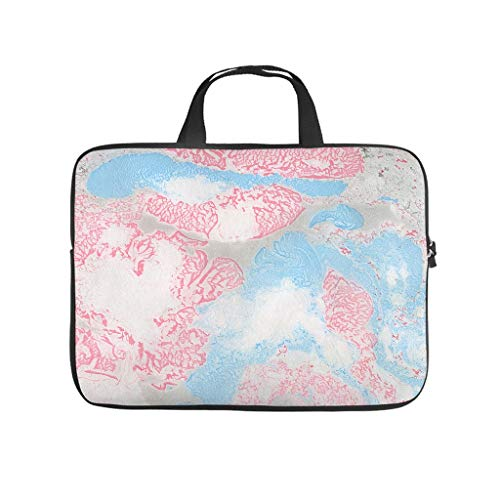 Normal Marble Texture Laptop Bags Stylish Large - Modern Style Laptop Protection Suitable for Business