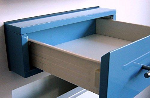 MB FERRAMENTA 10 x SCHUBKASTENSYSTEM Metall BEIGE SCHUBLADE Kasten Box 86mm HÖHE 500mm LÄNGE SCHUBLADENAUSZUG