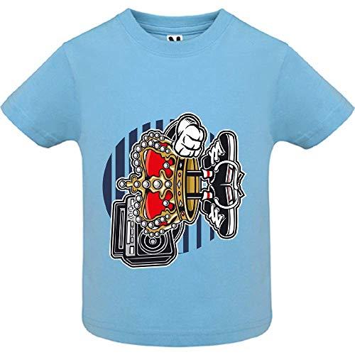 T-Shirt - Street King - Bébé Garçon - Bleu - 2ans