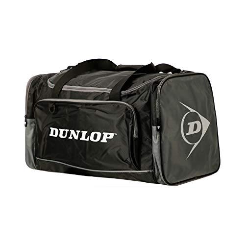 Dunlop Dunlop Sporttasche Herren - Borsa per la palestra Unisex Adulto, Schwarz, Medium: 54 x 28 30 cm