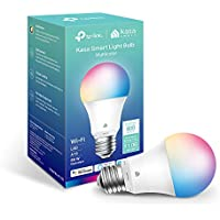 Kasa Smart Full Color Changing Dimmable Smart WiFi Light Bulb