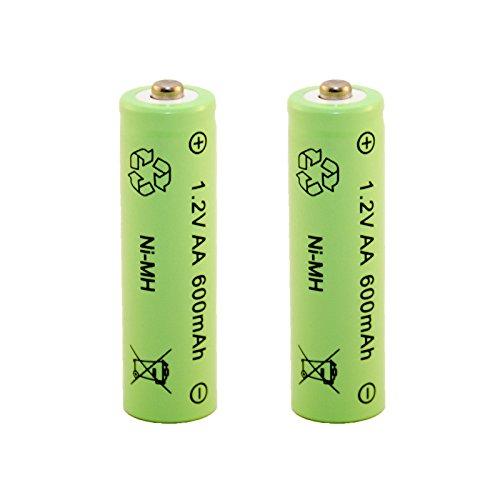 Solar-Akku leistungsstarke wiederaufladbare Batterien NiMH AAA Akku AAA 2Set - 8 St/ück 600mAh
