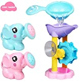 Badespielzeug,3 Stücke Elefant Sprinkler -Strand Wasser Spielzeug Mit Fancy Effekt Rutschfest Sturzsicher Geeignet Für Baby Pool Oder Badewanne