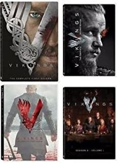 Vikings: Complete Collection - Seasons 1 through 4 (Volume 1)