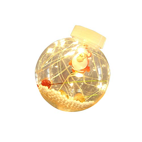 Christmas Led Light String Copper Wire Wish Ball Curtain Light Room Home Yard Outdoor Decoration Lantern 2.7m/10 lights