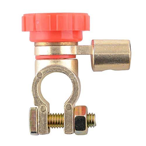 LQKYWNA Interruptor De Apagado del Automóvil, Protección Antifugas De RV Interruptor De Apagado De La Batería De Aleación De Zinc De Uso General Clip De Latón