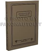 1921-1929 Repair Shop Manual Reprint 1926-1927 for 21-29 Essex/1924-29 Hudson