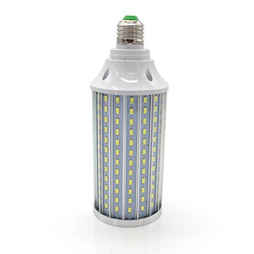 Mininono 40W Ampoules LED E27 Blanc Froid 6000K, 3500lm 210LEDs 300W Ampoule de haute puissance en aluminium de équivalente, AC85-265V SMD5730, ampoule de maïs LED