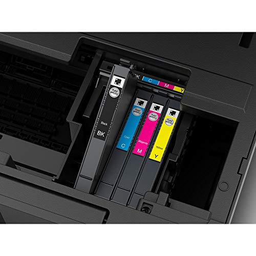 Epson WorkForce Pro | WF-3820DWF | Drucker für Chromebook | 4-in-1 Tintenstrahl-Multifunktionsgerät (Drucker, Scanner, Kopierer, Fax, ADF, WiFi, Ethernet, NFC, Duplex, Einzelpatronen, DIN A4) - 2