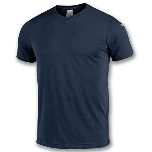 Joma Nimes Camisetas Equip. M/C, Hombre, Marino