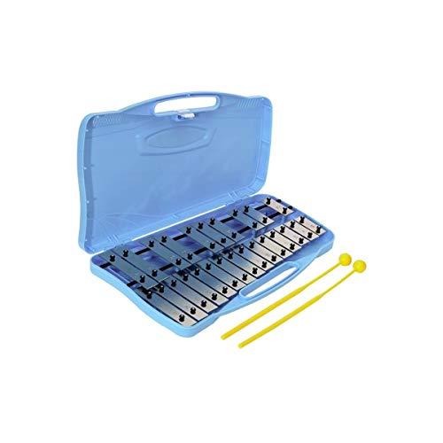 BSX Glockenspiele Chromatisch blau (25-Blättchen)