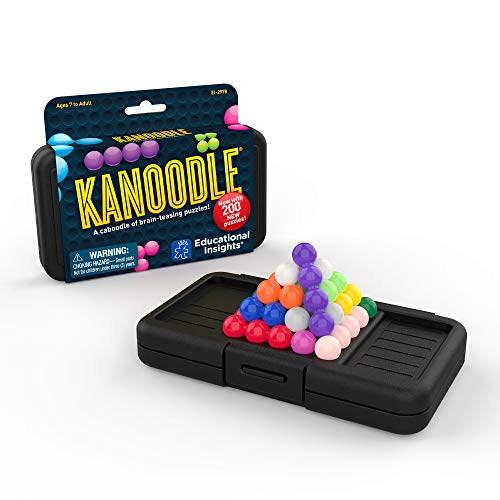 Educational Insights Kanoodle | Brain Twisting 3D Puzzle Game for Kids Teens amp Adults | Featuring 200 Challenges