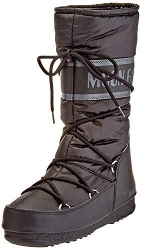 Moon-boot Damen High Nylon Wp Schneestiefel, Schwarz (Nero 001), 39 EU