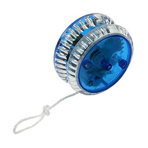 Yoyo Magia Professionale Led Del Yo-yo Di Plastica Del Giocattolo Yo Yo Sfera Di Misura Per I Bambini Adulti Blu