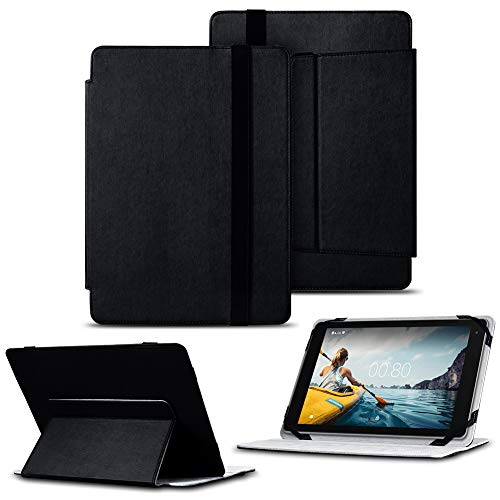 NAUC Medion Lifetab P10602 X 10311 X10302 P10400 Tasche Tablet Hülle Cover Schutzhülle Hülle Schwarz