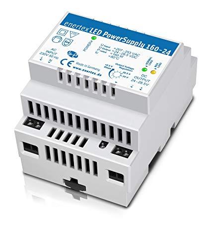 enertex LED PowerSupply 160-24, 24V 160W 6,6A, LED Hutschienen Netzteil